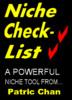 Thumbnail Niche Checklist