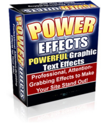 Product picture Power Effects 2.0 New Version - Powerful Graphics