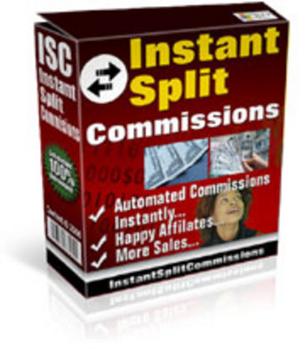 Product picture Instant Split Commissions