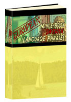 Product picture Mini eBook of Swedish Phrases
