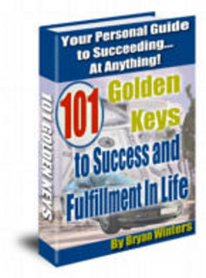 Product picture 101 Golden Keys To Success