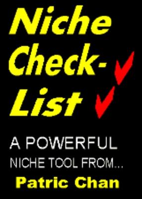 Product picture Niche Checklist