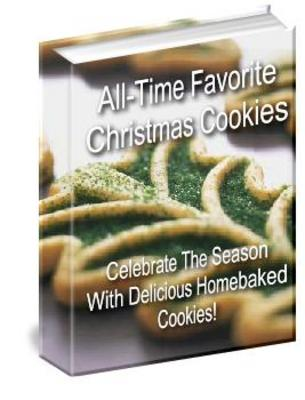 Product picture Christmas Cookie Recipes Package