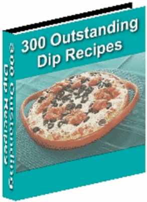 Product picture 300 Dip Recipes