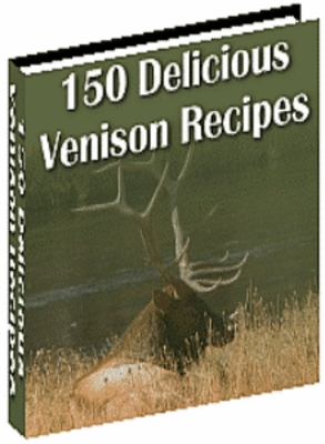 Product picture 150 Venison Recipes